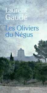 Couverture Les oliviers du Négus